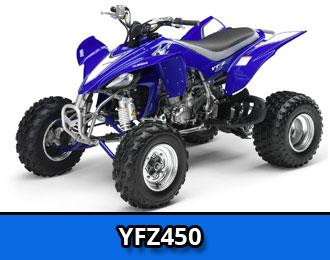 YFZ450  Yamaha YFZ4501