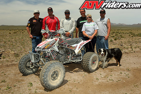 The Q1 team of CT Racing's Danny Prather & David Scott earned their second win of the year at the Best in the Desert Silver State 300 to extend their points lead  ATV Riders.com Race Report: 2014 Silver State 300  03 david scott danny prather podium