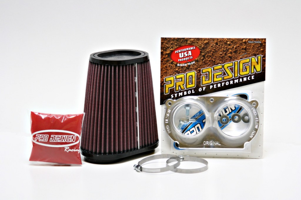 Pro Design Pro Flow Air Filter Intake Compatible With Yamaha Raptor 660