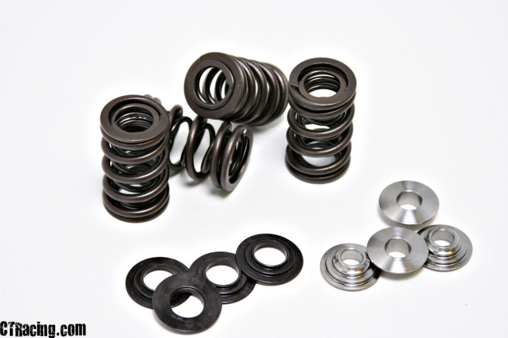 Raptor700RValveSprings4076  TRX450R '04-'05 Kibble White Racing Valve Spring Kit with Titanium Retainers Raptor700RValveSprings4076 1024x682