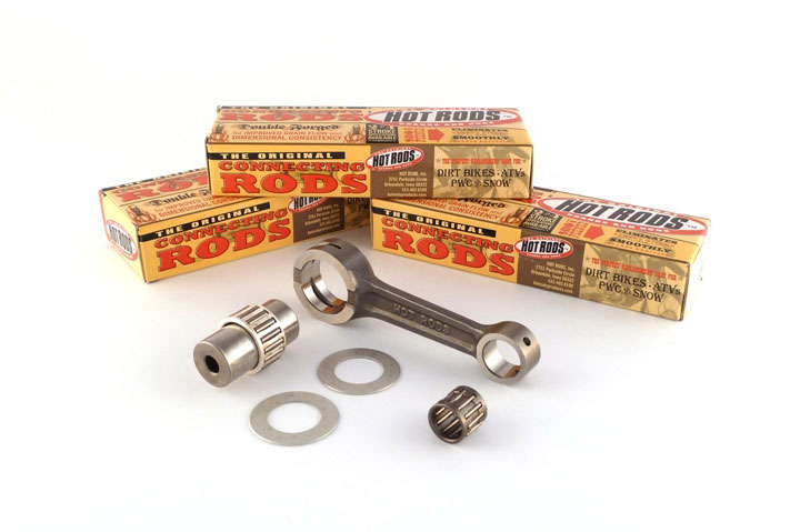 hot_rods_connecting_rods  TRX450R '04-'05 Hot Rods Connecting Rod Kit hot rods connecting rods